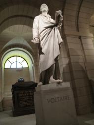 Voltaire's statue