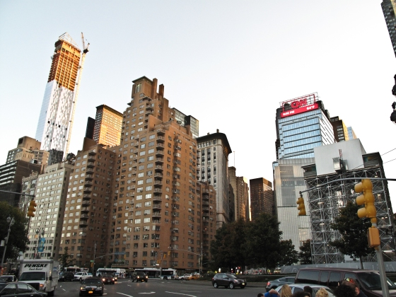 Next to Central Park