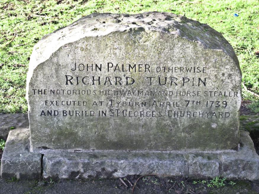 Dick Turpin's grave