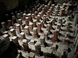 Bath - Roman heated floor