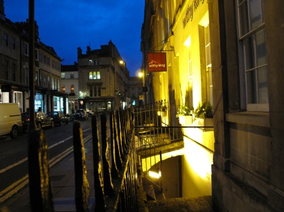 Bath - at night