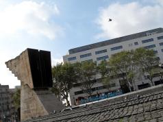 Francesc Macià monument.