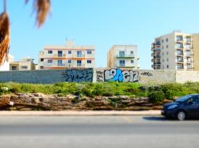 Nowhere escapes graffiti