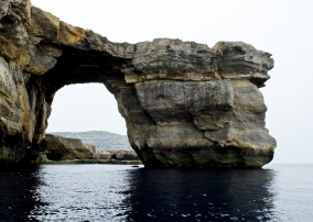 Gozo's Azure Window. Erosion means this natural arch won't be with us for much longer. Glad I went out on a boat and got this shot. Many films and TV shows (including Game of Thrones) have been filmed here.