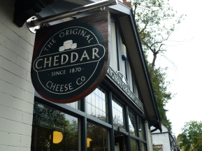 You can't go wrong with a bit of cheddar
