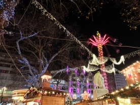 The fair at Leicester Square